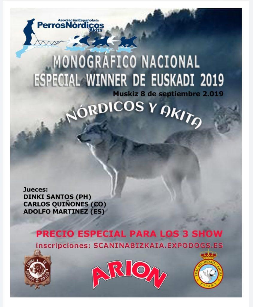 Próximo Monográfico Nacional en Muskiz, Vizcaya